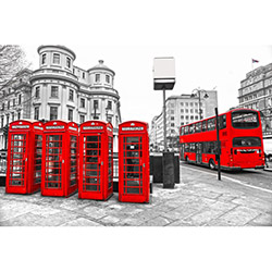 Verteks Lara Londra Kulübe Modern Halı - 140x220 cm