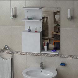 House Line Fuji Banyo Üst Dolabı - Beyaz