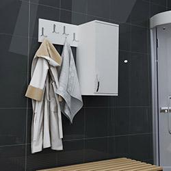 House Line Marita Askılıklı Banyo Dolabı - Beyaz