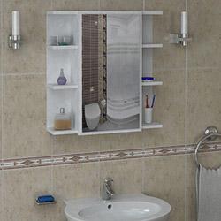 House Line Albertin Banyo Etajer - Beyaz