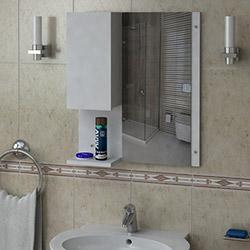 House Line Escuda Banyo Etajeri - Beyaz