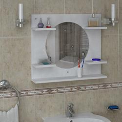 House Line Kamikaze Banyo Etajeri - Beyaz