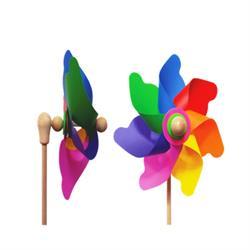 Rüzgar Gülü - Çap 22 cm