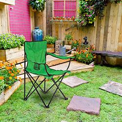 Comfy Home Katlanır Bahçe Sandalyesi Yeşil
