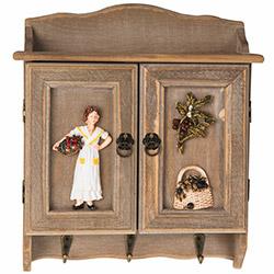 Simple Living C-20 Bayan Figürlü Anahtarlık - 30x24,5 cm