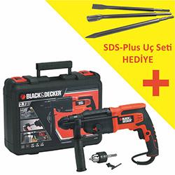 Black&Decker KD750KC 2,7J Kırıcı Delici - 750 Watt