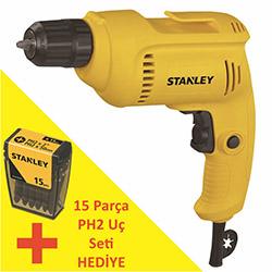 Stanley STDR5510C Profesyonel Darbesiz Matkap - 550 Watt