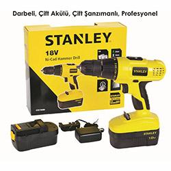 Stanley STDC18HBK Çift Akülü Profesyonel Darbeli Matkap