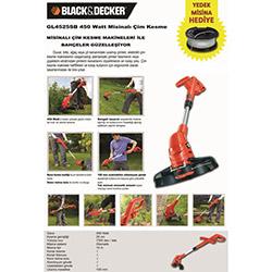 Black&Decker GL4525SB Misinalı Çim Kesme Makinesi