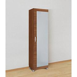 Kenyap Deby Ayna Kapaklı Vestiyer Dolabı - Milas