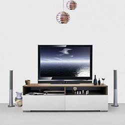 Kenyap Deco Tv Sehpası Samba&Beyaz