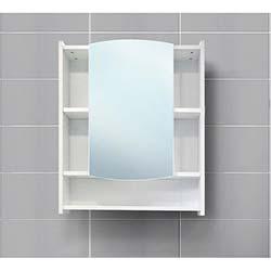 Kenyap Aspendos Aynalı Üst Banyo Dolabı Beyaz