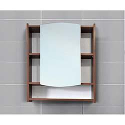 Kenyap Aspendos Aynalı Üst Banyo Dolabı Beyaz&Milas