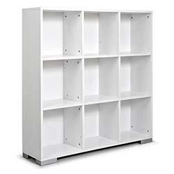 Kenyap Domino Kitaplık-Beyaz