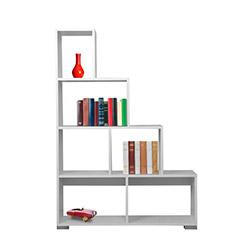 Kenyap Merdiven Kitaplık - Beyaz