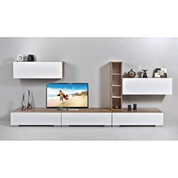 Kenyap Decoflex Tv Ünitesi - Beyaz / Samba
