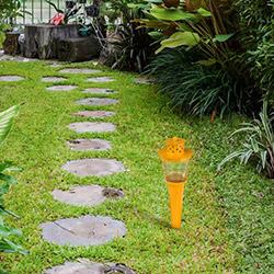 Comfy Home Bahçe Meşalesi (Sarı) - 85x85x355 mm