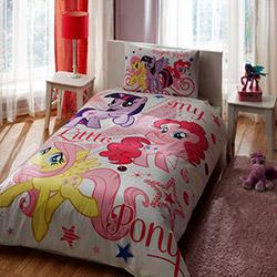 Taç My Little Pony Stars Tek Kişilik Nevresim Takımı