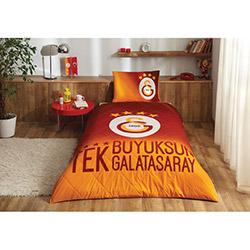 Lisanslı Galatasaray 4. Yıldız Tek Kişilik Yatak Örtüsü Takımı