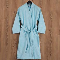 Casabel L 71107221 Bornoz - Açık Mavi