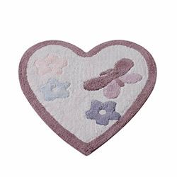 Casabel Hearts Pamuk Paspas - Lila