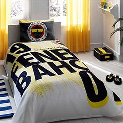 Taç Lisanslı Fenerbahçe 1907 Logo Tek Kişilik Pike Takımı
