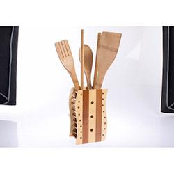 Limbo Bambu Kaşıklık Ve Servis Kaşıkları Seti