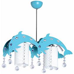 Ora Dekor Dolphin 2'li Avize - Turkuaz