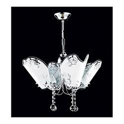 Safir Light İmren 4'lü Avize - Gümüş