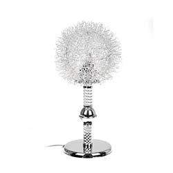 Safir Light Kirpi Abajur - Gümüş