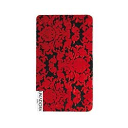 Liviadora Ottoman Banyo Halısı - Kırmızı