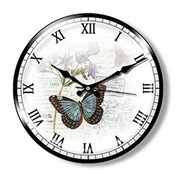 Clocktime CT8 Dekoratif Bombeli Cam Duvar Saati - 35 cm