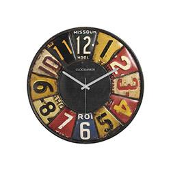 Clockmaker By Cadran CMM68 Mdf Duvar Saati - 30x30 cm