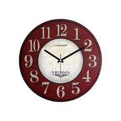 Clockmaker CMM85 Mdf Duvar Saati - 30x30 cm