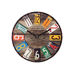 Clockmaker By Cadran CMM90 Mdf Duvar Saati - 30x30 cm