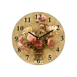 Clockmaker By Cadran CMM157 Mdf Duvar Saati - 30x30 cm