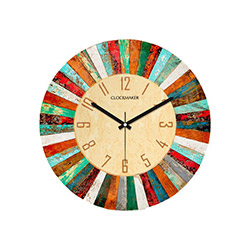 Clockmaker By Cadran CMM162 Mdf Duvar Saati - 30x30 cm