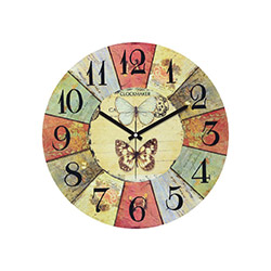 Clockmaker By Cadran CMM167 Mdf Duvar Saati - 30x30 cm