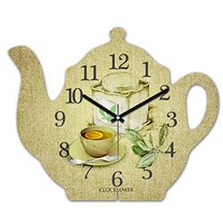 Clockmaker By Cadran CMM201 Demlik Mdf Duvar Saati - 30x25 cm
