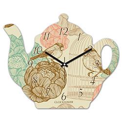 Clockmaker By Cadran CMM212 Demlik Mdf Duvar Saati - 30x25 cm