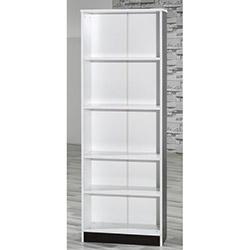 Comfy Home 5 Raflı Kitaplık - Ceviz / Beyaz