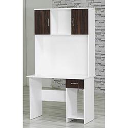 Comfy Home Gizem Çalışma Masası - Ceviz / Beyaz