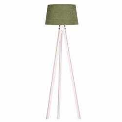 Ege Light 3 Ayaklı Lambader - Beyaz / Koyu Yeşil