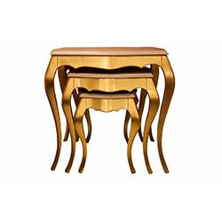 A2 Decor Golden Zigon Sehpa