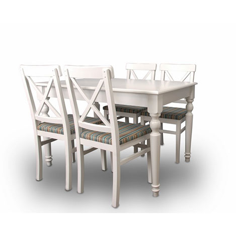A2 Decor Viva Açılır Masa Takımı - Beyaz