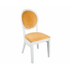 House Line Madalyon Sandalye - Turuncu / Beyaz