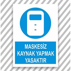 Supersticx UYK35 Uyarı ve İkaz Sticker - 30x40 cm