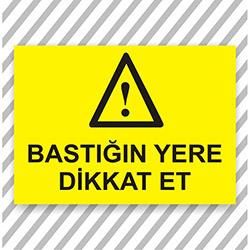 Supersticx UYK105 Uyarı ve İkaz Sticker - 30x40 cm