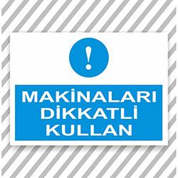 Supersticx UYK239 Uyarı ve İkaz Sticker - 30x40 cm