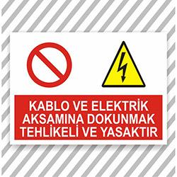 Supersticx UYK301 Uyarı ve İkaz Sticker - 30x40 cm